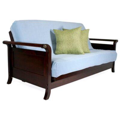lexington full size wall hugger    futon frame dillon full size wall hugger    futon frame natural   right futons      rh   rightfutons