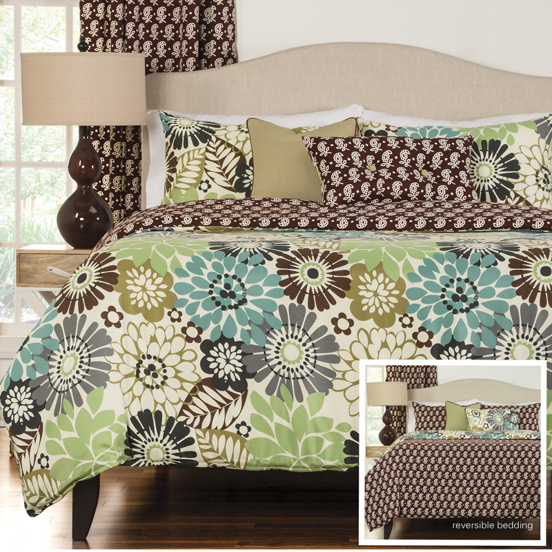 Blooming Bulb Harvest Bedding Collection Right Futons