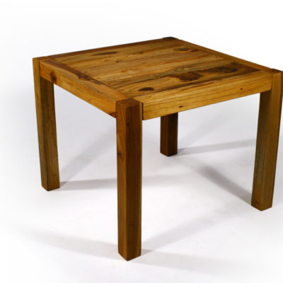 Teak Inlay End Table