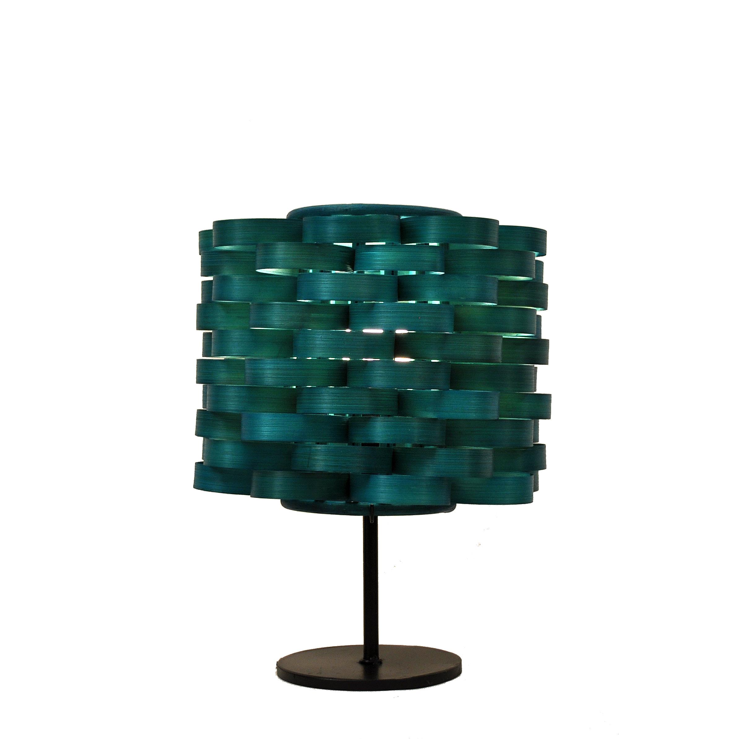 Bamboo Cylinder Lamp Nc 105 Sb