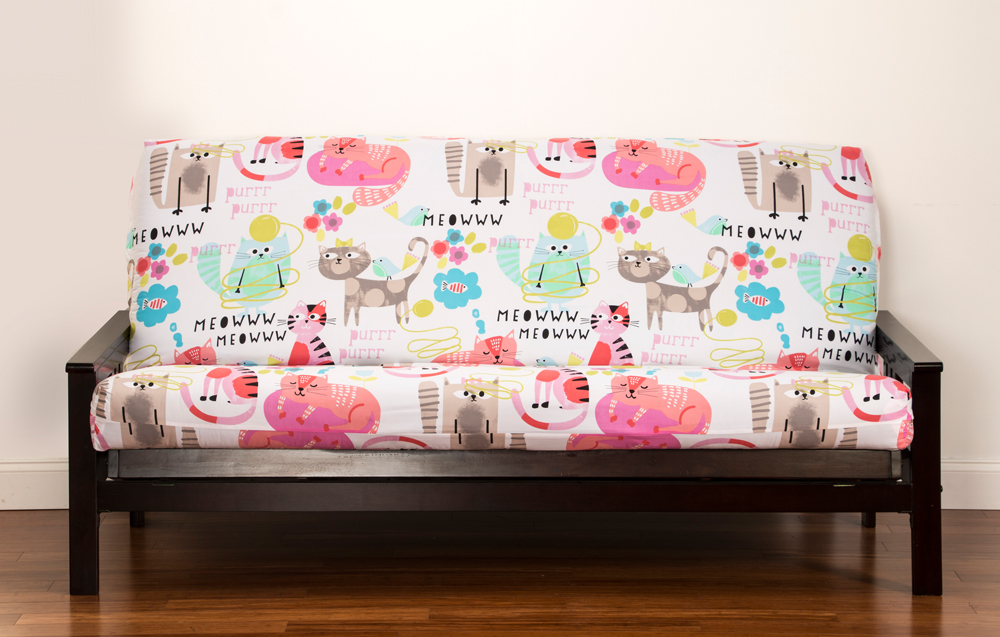 Purrty Cat Futon Cover Right Futons Amp Waterbeds