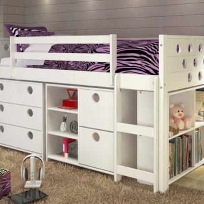Low Loft Kids Beds