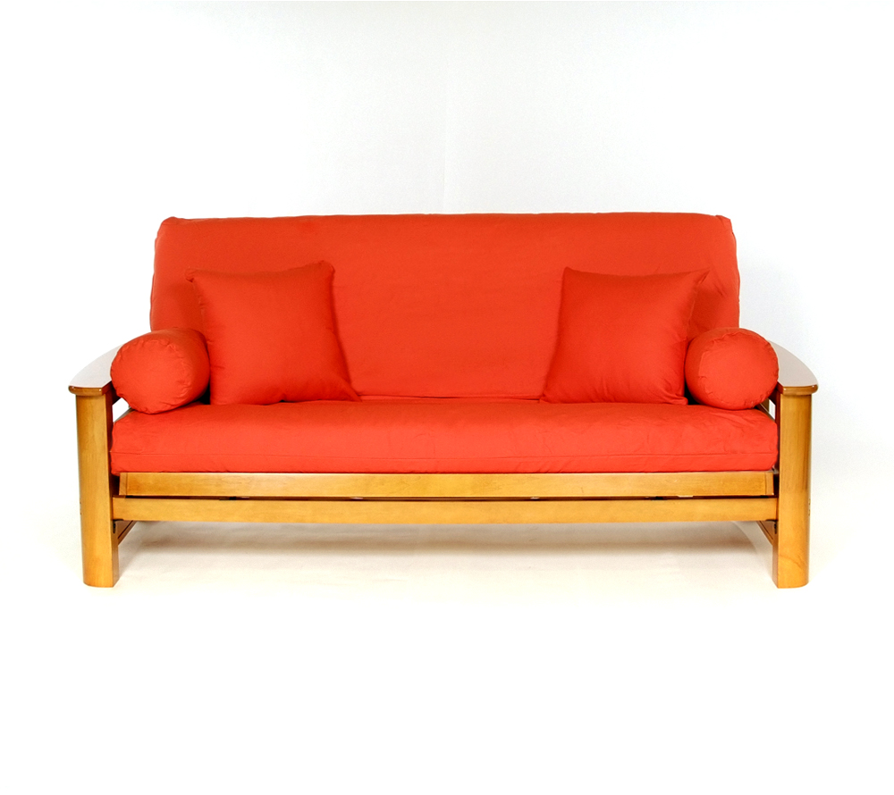 Full size solid futon covers by ls covers right futons waterbeds
