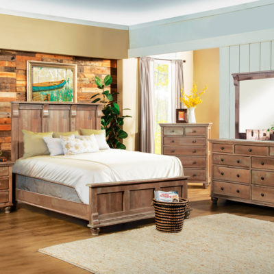 Athens Queen Platform Bed