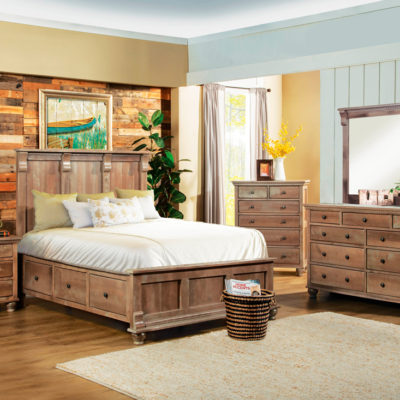 Athens Storage Bed Collection