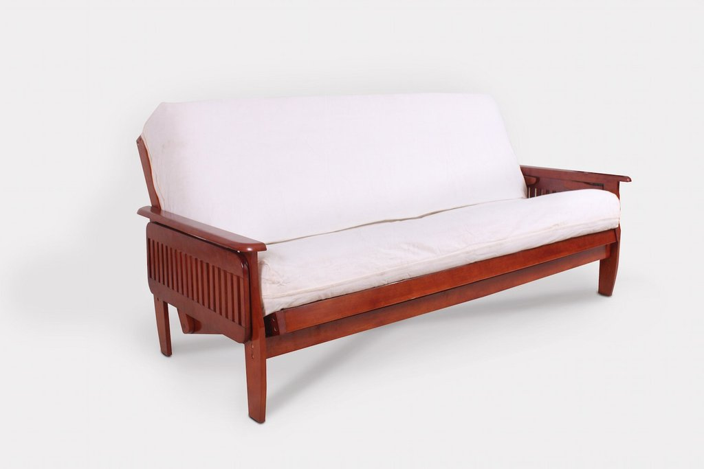 denver tray full dark cherry denver tray futon frame dark cherry   right futons  u0026 more  rh   rightfutons