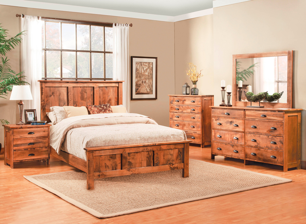 Northwoods Queen Platform Bed Only Right Futons Amp Waterbeds