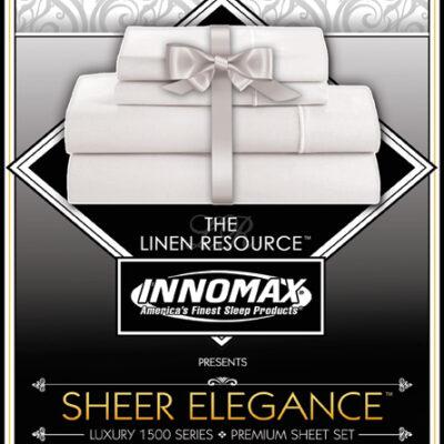 Sheer Elegance Luxury 1500 Series Premium Sheet Sets