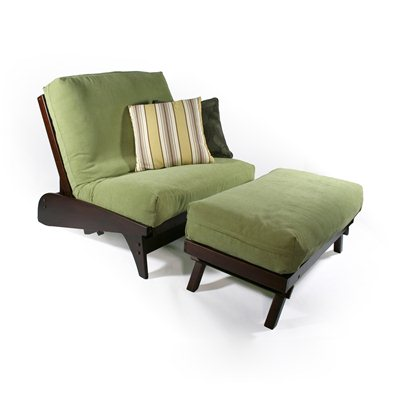 Dillon Twin Chair Ottoman Wallhugger Futon Frame