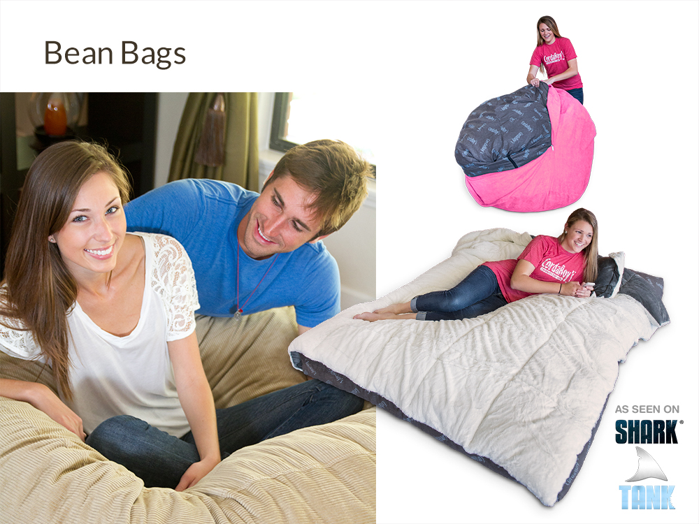 Bean Bags at Right Futons & Waterbeds Houston Texas