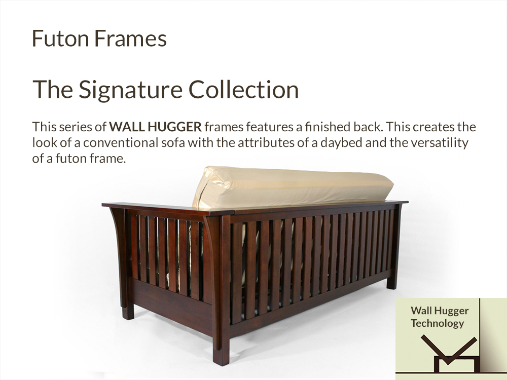 Futon Frames Signature Collection at Right Futons & Waterbeds Houston T