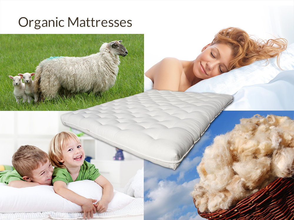 Organic Mattresses at Right Futons & Waterbeds Houston Texas
