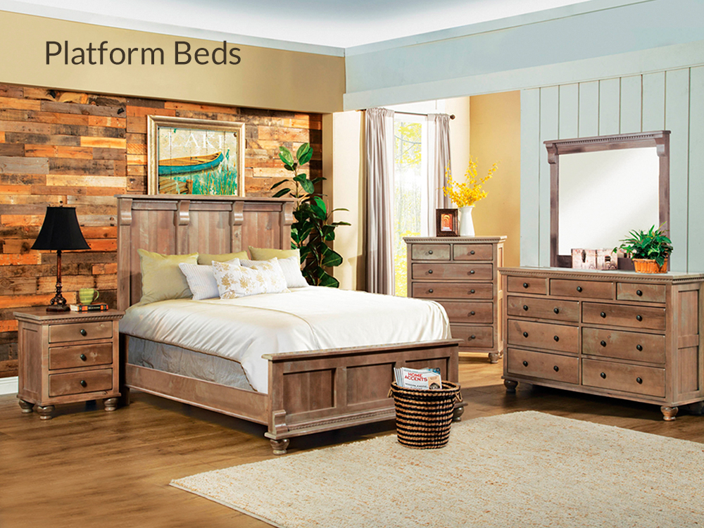 Platform Beds at Right Futons & Waterbeds Houston Texas