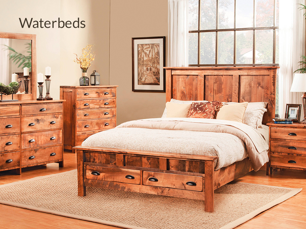 Waterbeds at Right Futons & Waterbeds Houston Texas